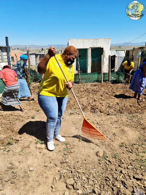 Humana People to People in South Africa continues to empower youth with knowledge and necessary skills.