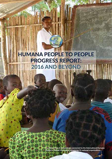 Launching the Humana People To People Progress Report 2016 and beyond