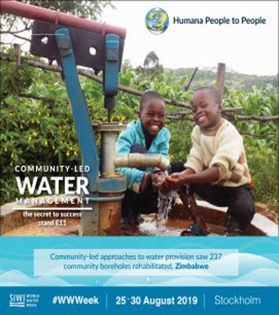 """World Water Week is for """"Water for Society – Including All"""""""