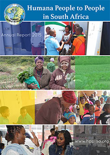 Humana People To People in South Africa Annual Report 2015