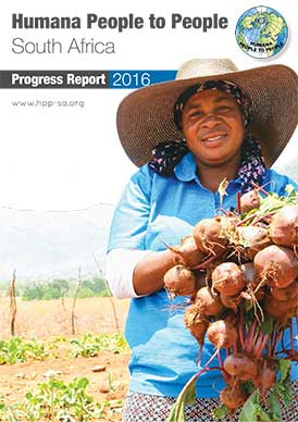 Humana People To People in South Africa Progress Report 2016